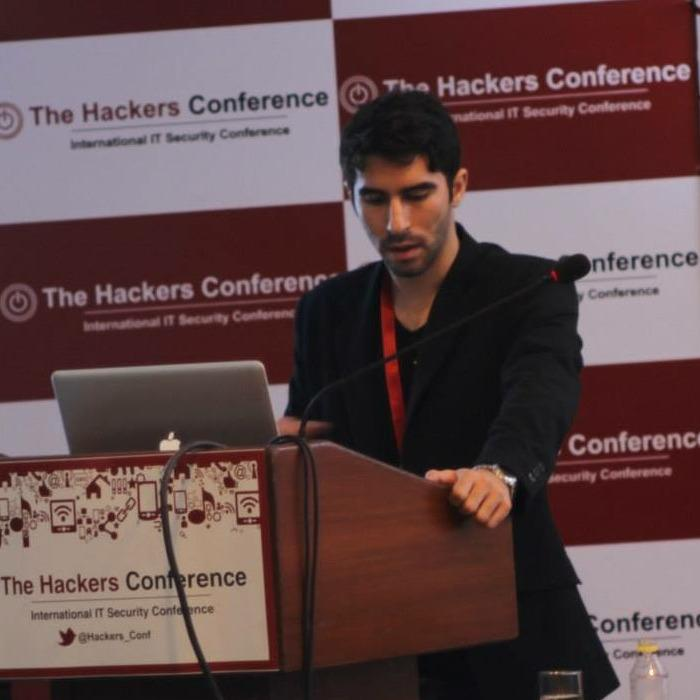 Gregory Alvarez at the Hackers Conference